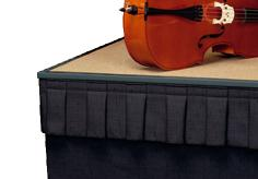 Wyndham Stage Skirting