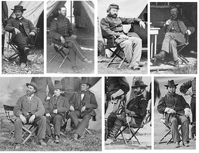 Civil War Directors Chairs