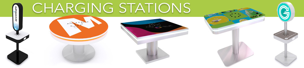 Charging Stations for Trade Shows
