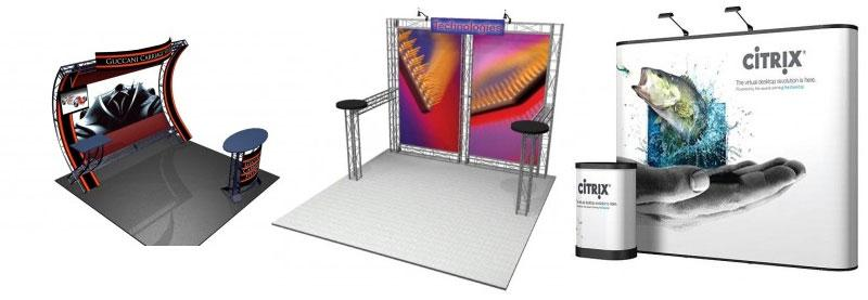Exhibition Booth Height : Trade show displays
