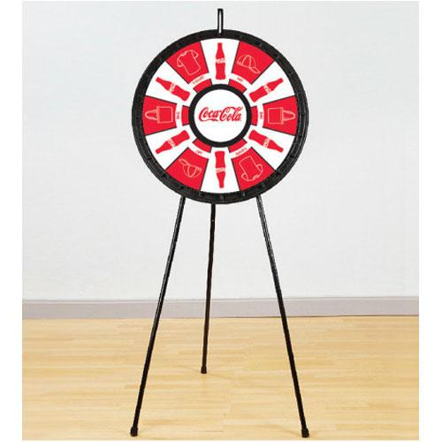 Adaptable Floor Stand Prize Wheel