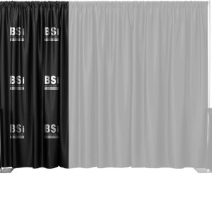 Single Color Multi-Print Backdrop Drape