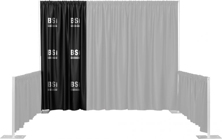 Single Color Multi-Print Backdrop Drape