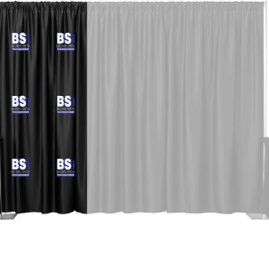 Single 2 Color Multi-Print Backdrop Drape