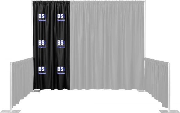 Single 2 Color Multi-Print Backdrop Drape