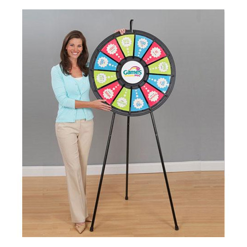 Floor Stand Prize Wheel