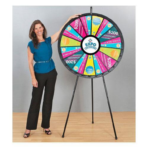 Big Floor Stand Prize Wheel
