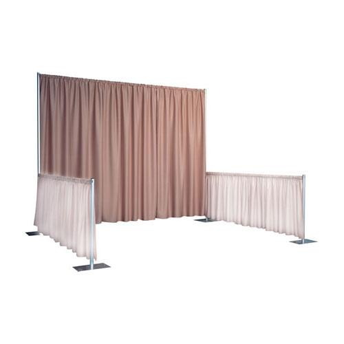 Wyndham Rod Pocket Backdrops 10′ High Back Wall