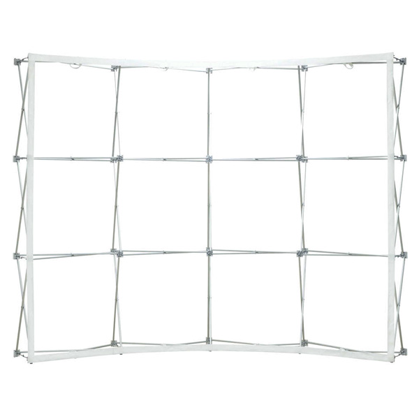 Ready Pop 10 ft Curved Single Sided Frame