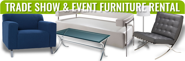 trade show and exhibit furniture rentals