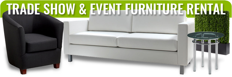 trade show display furniture rentals