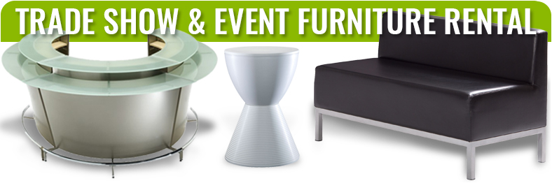 trade show exhibit booth furniture rentals
