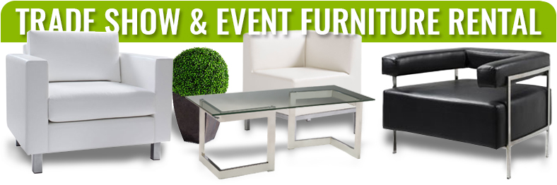 trade show and event furniture rentals
