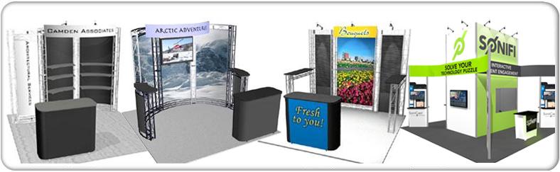 truss display rentals