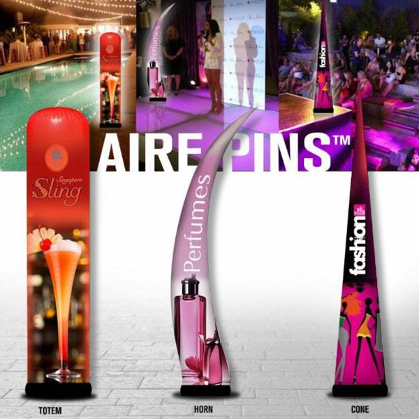 Aire Pins, air dancers, inflatable advertising, custom inflatables, advertising inflatables, promotional inflatables