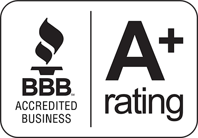 BBB A+ Rating camelback Displays