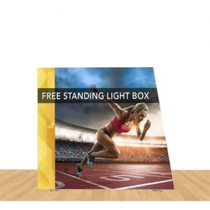 Angled Freestanding Light Box