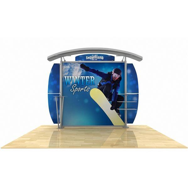 hybrid display, trade show display, tradeshow display, Metal Fusion Timberline, Timberline
