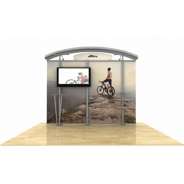hybrid display, trade show display, tradeshow display, Timberline Monitor Display, Timberline