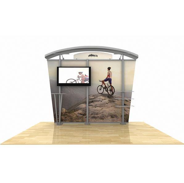 hybrid display, trade show display, tradeshow display, Timberline Monitor Display, Timberline