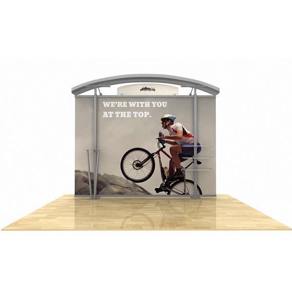 hybrid display, trade show display, tradeshow display, Timberline Modular Display, Timberline