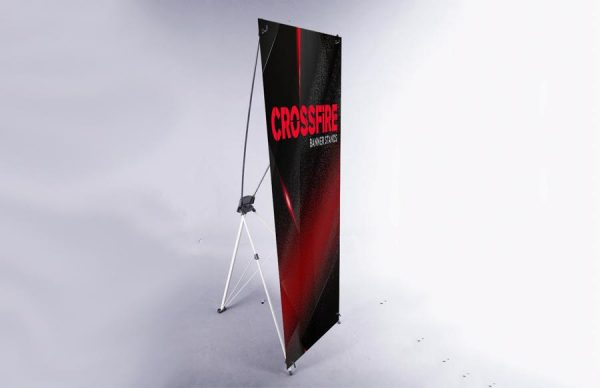 ABX Crossfire Banner Stand