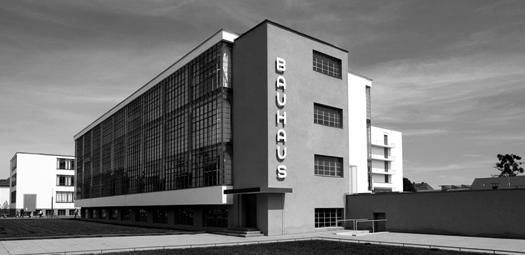 Bauhaus School: A German art school operational from 1919 to 1933 that combined crafts and the fine arts, and was famous for the approach to design that it publicized and taught.