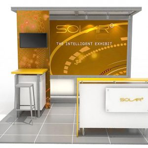 ABX Solar L 10'x10' Trade Show Display