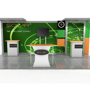 ABX Solar D 10'x20' Trade Show Displays