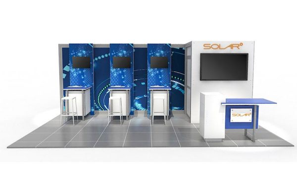 ABX Solar E 10'x20' Exhibit Display