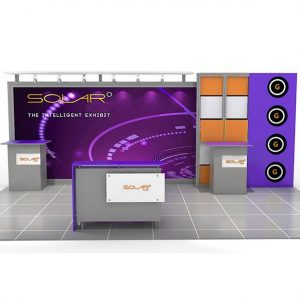 ABX Solar G 10'x20' Display Booth