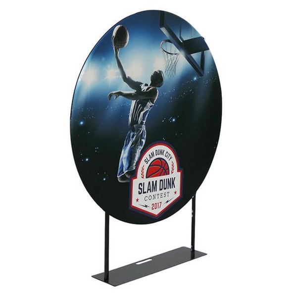 EZ Extend Circle Tension Fabric Banner Stand 5ft