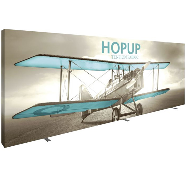 HopUp 20ft Full Height Tension Fabric Display
