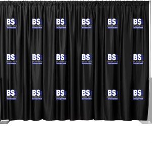 2 Color Set Multi-Print Backdrop Drape