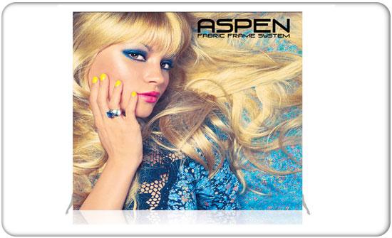 7.5ft Aspen Backwall Kit