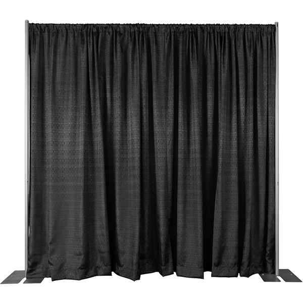 8ft High Pipe and Drape Backdrop Kit
