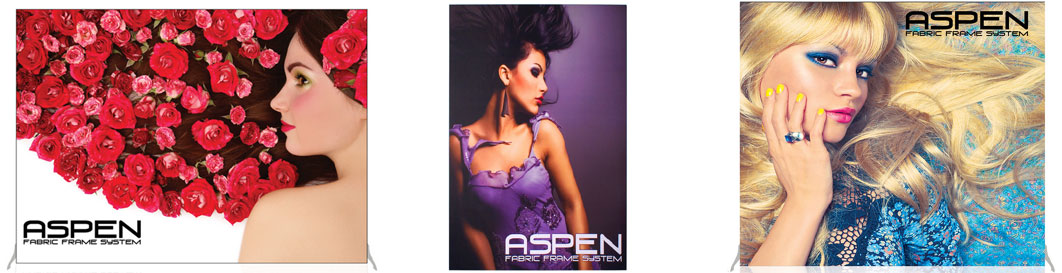 Aspen Frame Back Wall Displays