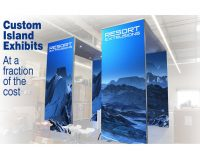 Custom Island Resort Extrusion Exhibit
