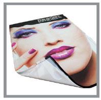 Non backlit SEG Fabric Graphic
