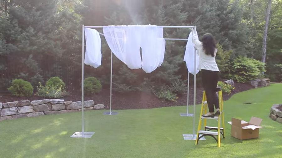 Wedding Canopy Kit & Wedding Canopy Kit | Camelback Displays