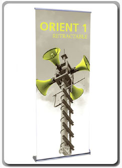 Orient 800 Retractable Banner Stands