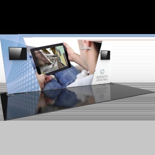 Formulate Designer Series 20ft Fabric Backwall Kit 06