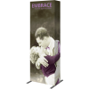 embrace 2.5ft full height push fit tension fabric display full fitted graphic right