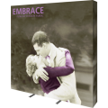 embrace 8ft full height push fit tension fabric display full fitted graphic right