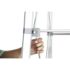 embrace push fit tension fabric display channel bar