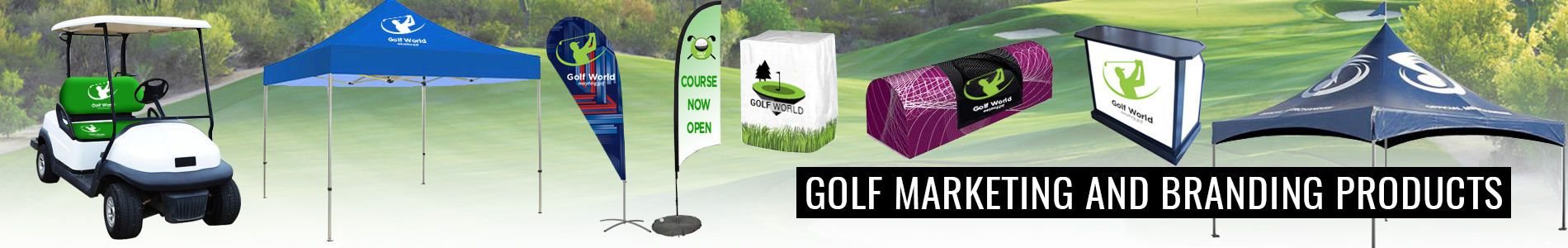 Golf Marketing and Branding Products
