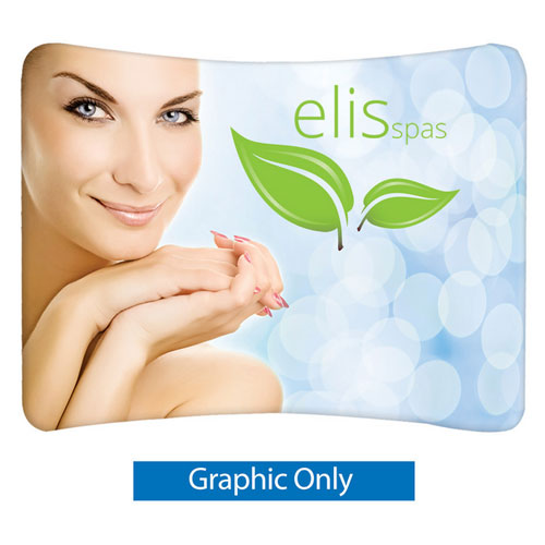 EZ Tube 10FT Curved Graphic