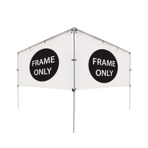 12' (W) x 5' (H) In-Ground V-Shape Banner Hardware Only
