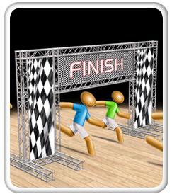 24x13 Truss System Race Line
