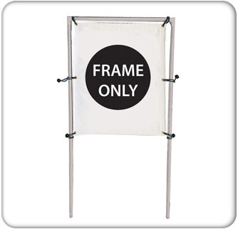 4x5-Single Banner Hardware Only